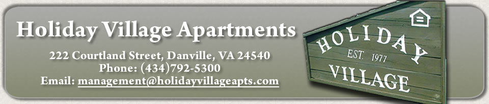 Holiday Village Apartments, 222 Courtland Street, Danville, Virginia